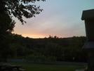 Sunset, Sitting Outside Eckville Shelter .. 8-23-08 by darkage in Trail & Blazes in Maryland & Pennsylvania