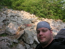 Me, Heading Up Bake Oven Knob ... by darkage in Section Hikers