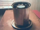 Alcohol  Burner For Wood Stove by Purple in Gear Gallery