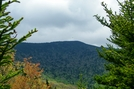 Roan Mountain Seen From Beartown Mtn. by SmokyMtn Hiker in Views in North Carolina & Tennessee