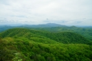 View From Little Rock Knob by SmokyMtn Hiker in Views in North Carolina & Tennessee