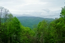 View Of Unaka Mountain Obout A Mile North Of Iron Mtn Gap