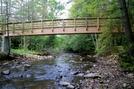 Foot Bridge Over Stony Creek by SmokyMtn Hiker in Trail & Blazes in Virginia & West Virginia