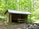 Groundhog Creek Shelter by SmokyMtn Hiker in North Carolina & Tennessee Shelters