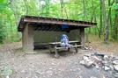 Iron Mountain Shelter by SmokyMtn Hiker in North Carolina & Tennessee Shelters