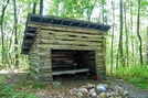 Emergency Shelter by SmokyMtn Hiker in North Carolina & Tennessee Shelters