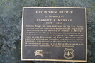 Stanley Murray Plaque On Hump Mountain
