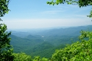 View 1 Mile North Of Bly Gap by SmokyMtn Hiker in Views in North Carolina & Tennessee