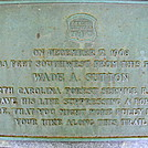 Memorial Plaque to Wade A. Sutton by SmokyMtn Hiker in Special Points of Interest