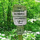 Tray Gap by SmokyMtn Hiker in Sign Gallery