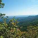 Overlook 2 miles south of Woody Gap by SmokyMtn Hiker in Views in Georgia
