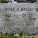 Howard E Bassette Memorial