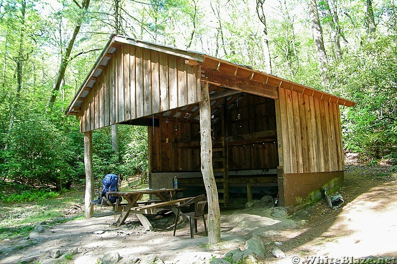 Curley Maple Gap Shelter