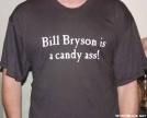 Bill Bryson tee shirt by The Old Fhart in Other Galleries