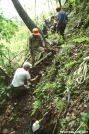 Bob Peoples doing trail work
