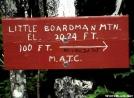 Little Boardman mountain, Maine