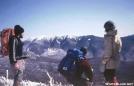 Franconia Ridge in winter
