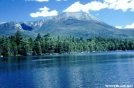 Katahdin from Daicey Pond by The Old Fhart in Views in Maine