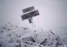 Mt. Moosilauke summit in winter