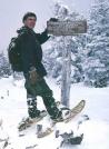 Summit, North Crocker in winter