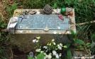 Ottie Cline Powell monument