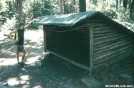 Old Peters Mountain shelter