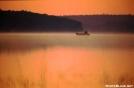 Sunrise from sand beach, Nahmakanta Lake