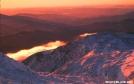 Winter sunrise on Mount Washington