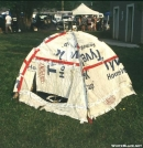 Tyvek Man's tent