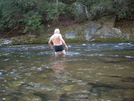 April On Chattooga River Sc