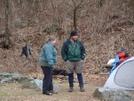 Woody Gap Campsite by CrumbSnatcher in Thru - Hikers