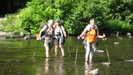 Willow,smasher,spirit Getting Wet by dragonfeet in Section Hikers