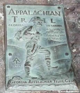 Appalachian Trail Marker by Mountain climber in Sign Gallery