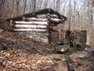 At The Crampton Gap Shelter