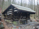 Old Rocky Run Shelter Being Dismantled by Aesculus in Maryland & Pennsylvania Shelters
