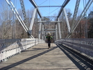 Hiking Across Swatara Bridge by Aesculus in Section Hikers