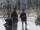 Beer Break Near Dick's Dome Shelter Amid The Ice-covered Trees by Tweeger in Virginia & West Virginia Shelters