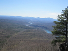 Va. Hike by wolf in Section Hikers