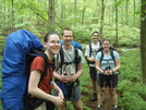 Faces On The Trail In Ct- Wystiria (on The Bar Right) by MedicineMan in Section Hikers