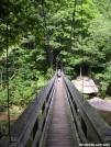 Tye River Footbridge by MedicineMan in Special Points of Interest