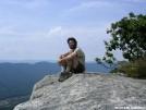 Thru-hiker on Tinker Cliffs by MedicineMan in Thru - Hikers