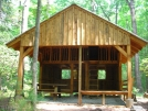 New Stover Creek Shelter by Nightwalker in Stover Creek Shelter