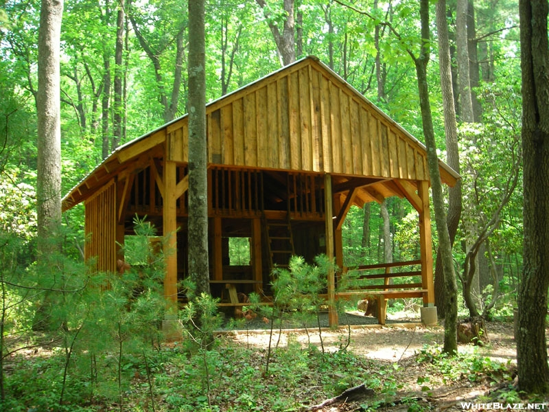 New Stover Creek Shelter