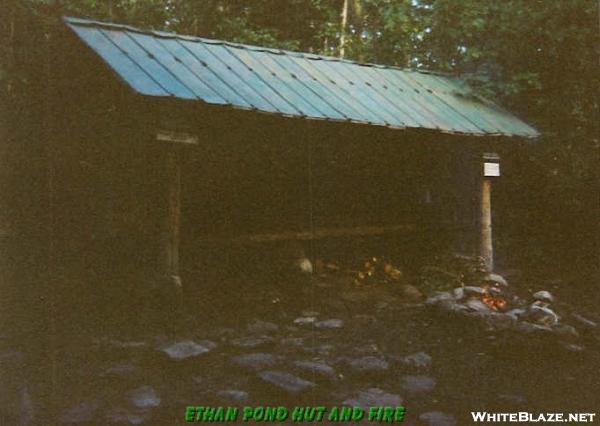 Ethan Pond Hut-NH