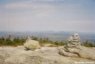 Cairns On Saddleback Mt by Kozmic Zian in Views in Maine