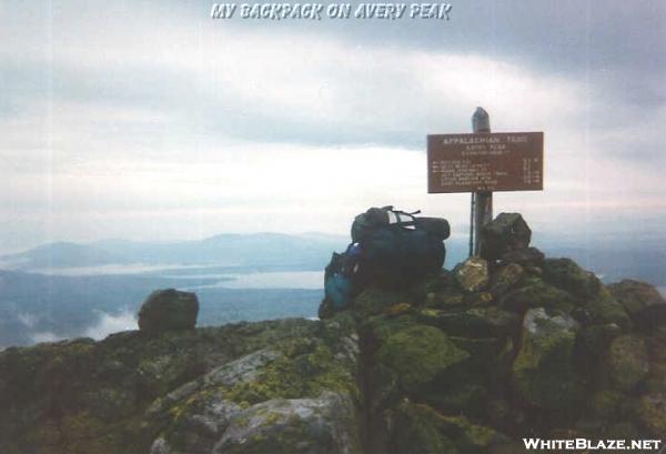 Pack On Avery Peak