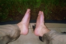 My Feet by IceAge in North Country NST