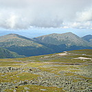 Mt Jefferson, Mt Adams, Mt Madison from Mt Washington by Maps in Views in New Hampshire