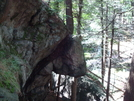 Rock Overhang At Lemon Squeezer by Maps in Trail & Blazes in New Jersey & New York