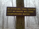 Sign For Blackburn Trail Center by kolokolo in Section Hikers